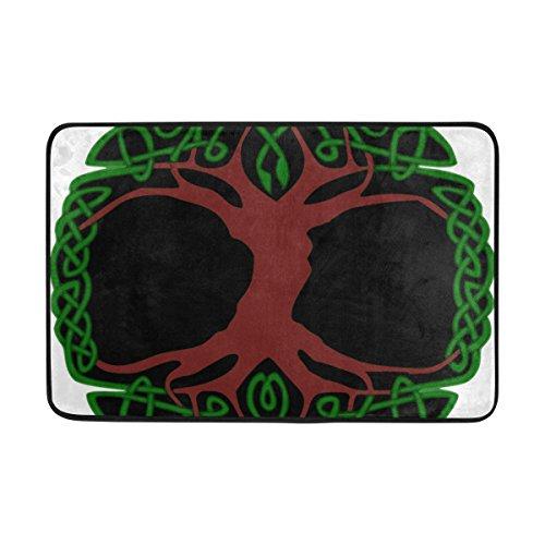 LEISISI Tree Of Life Png Fashion Design Indoor/Outdoor Doormat 23.6(L)X15.7(W) inch Non-Slip doormat Home -