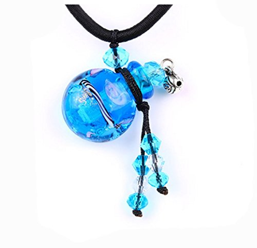Sky Blue Magic Powers Wand Pendant (Aromatherapy Wand Pendant)
