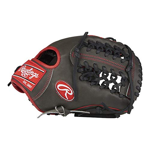 Gold Glove Series Outfield Glove - Rawlings Heart of the Hide Modified Trap-Eze Web Baseball Glove, 11-1/2