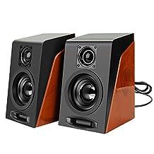 WinnerEco Mini Ancient Subwoofer Restoring Desktop Computer Speakers