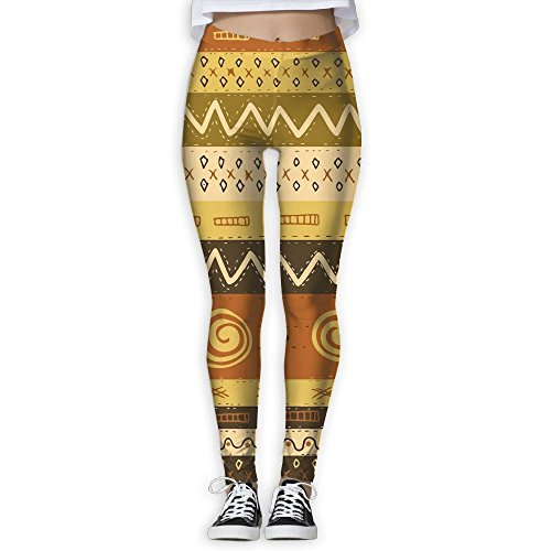 ZGZGZ Womens Bright Totem Printed Yoga Pants Workout Capris Lightweight Yoga Leggings -
