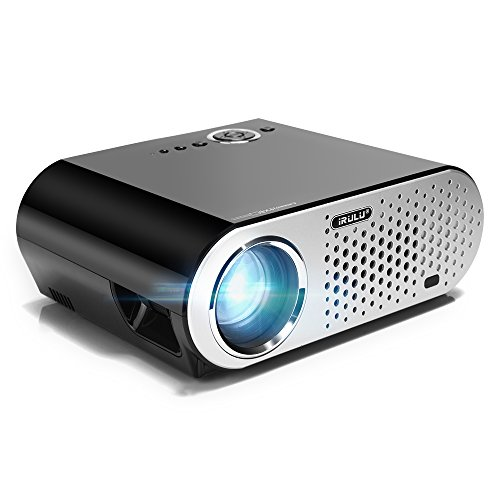 Hd 720p led projector irulu gp90 1280x800 video projector for Hd projector amazon