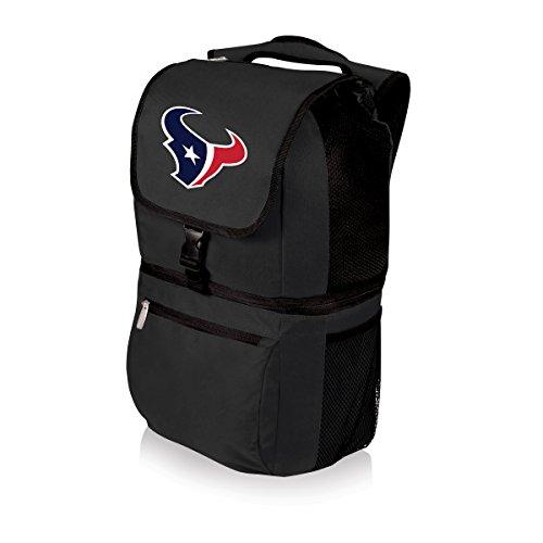 NFL Zuma Insulated Cooler Backpack, Black, Houston Texans