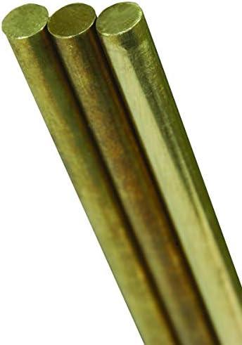 K&S ソリッドロッド 直径3/32インチ x 長さ36インチ 真鍮