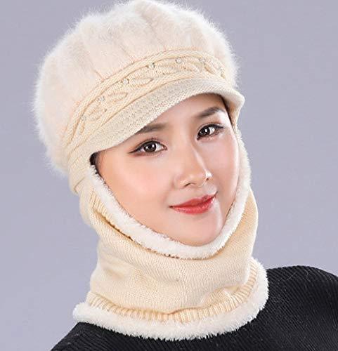 Stil A Taille Bonnet beige Unique Acvip Femme gwaqRxA4I