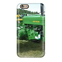 Awesome Artistic John Deere Flip Case With Fashion Design For Iphone 6