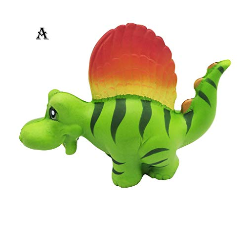 (NOMENI Stress Reliever Toy, Color Dinosaur Cream Bread Scented Slow Rising Toys Phone Charm Gifts)