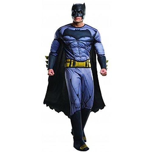 Rubie's Men's Batman v Superman: Dawn of Justice Deluxe Batman Costume, Multi, X-Large -