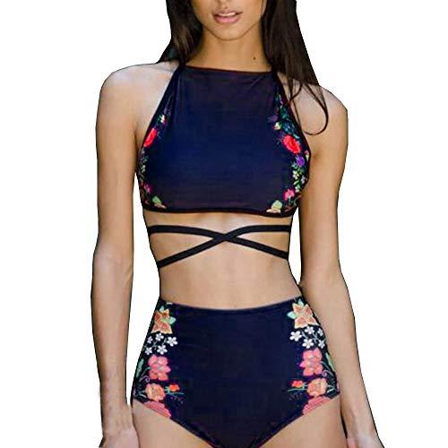 [해외]SGMORE 여성 비키니 세트 수영복 푸쉬 업 패딩 프린트 브라 수영복 비치웨어 / SGMORE Women Bikini Set Swimwear Push-Up Padded Print Bra Swimsuit Beachwear