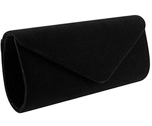 Nodykka Clutch Purses For Women Evening Bags Shoulder Envelope Party Cross Body Handbags (Black3) by Nodykka (Image #3)