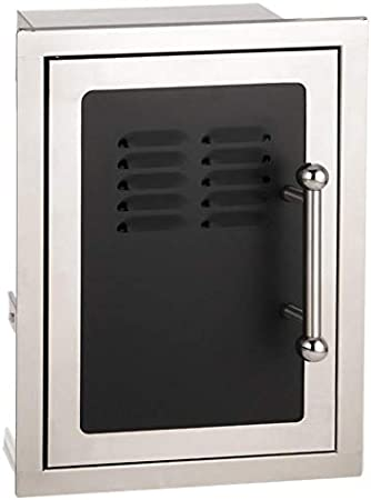 Amazon Com Fire Magic Echelon Black Diamond 14 Inch Left Hinged Louvered Single Access Door W Propane Tank Storage Soft Close 53820hsc Tl Garden Outdoor