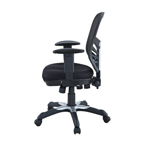 modway articulate black mesh office chair import it all