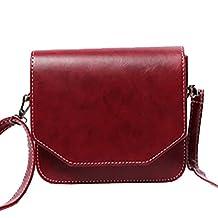 Top Shop Womens Flip Mini Leather Solid Totes Flap Shoulder Bags Handbags Hobos