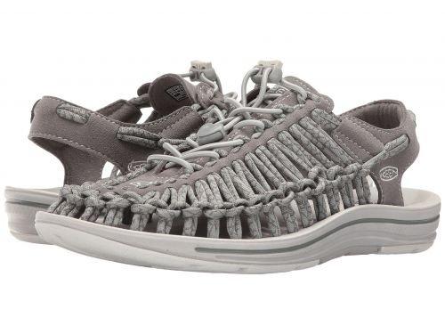 Keen(キーン) レディース 女性用 シューズ 靴 サンダル Uneek - Neutral Gray/Gargoyle [並行輸入品]