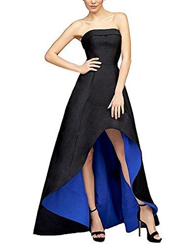 Drehouse Bustier Haute Décolletées De Bal Robes De Fête Taille Plus Noir Royal Des Femmes