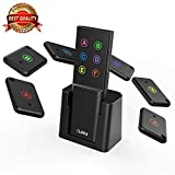 Key Finder, AOJI Mini Item Tracker Wireless RF Locator, 80dB Sound Beep, 100ft Work Range, Red Indicator, 2 Extra Batteries: more info
