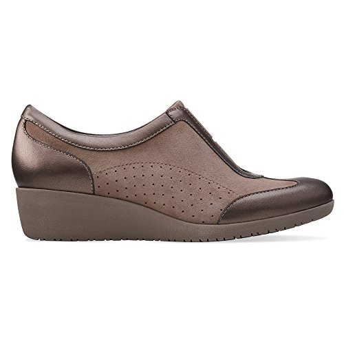 outlet best seller Clarks Women's Petula Viola Flat Taupe Suede/Leather outlet lowest price sale countdown package CQSey7