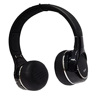 233621 H300 Noise Isolation Wired Overear Foldable Portable Airline Stereo Headphone