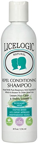 LiceLogic Natural Conditioning Shampoo Rosemary