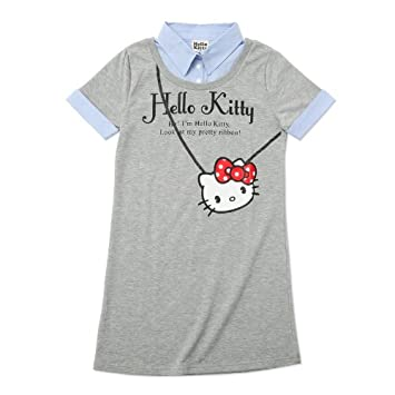 44f02393bc Hello Kitty Layered Style Dress dungarees gray L (japan import)   Amazon.co.uk  Toys   Games