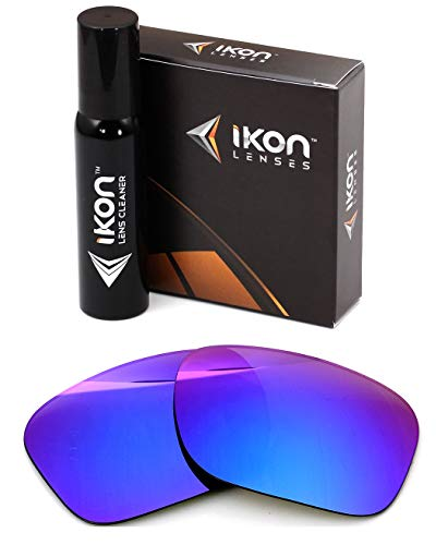 Polarized Ikon Iridium Replacement Lenses for Oakley Holbrook Sunglasses - Violet