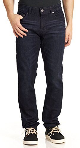 Mens Basic Jean (Calvin Klein Men's Basic Denim Slim Jeans, Osaka Blue, 36X32)