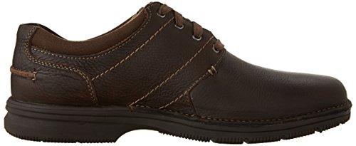 Clarks , Chaussures bateau pour homme marron Dark Brown Tumbled Leather - marron - Dark Brown Tumbled Leather, 42.5 EU