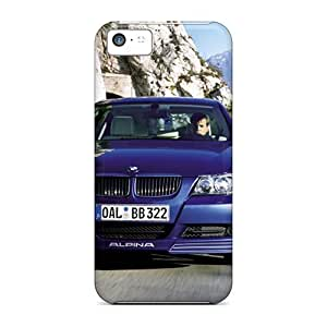 Hot Tpu Covers Cases For Iphone/ 5c Cases Covers Skin - Alpina Bmw B3 Bi Turbo Front