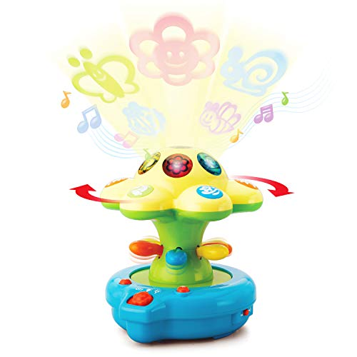 Happkid Baby Crib Toys Baby Soother Lights with Colored projections, Magical Lightshow Toys for Baby from 0 ()