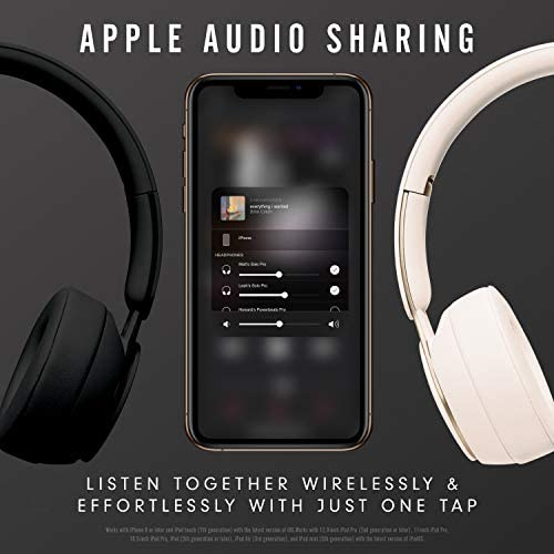 Beats Solo Pro Wireless Noise Cancelling On Ear Headphones Apple H1 Headphone Chip Class 1 Bluetooth Active Noise Cancelling Transparency 22 Hours Of Listening Time Black Wfxa