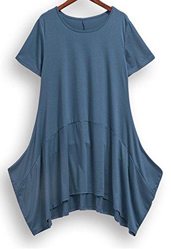 erdbeerloft - Vestido - para mujer azul grisáceo