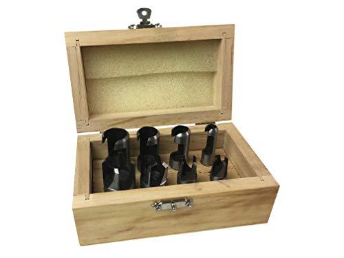 8 Piece Wood Plug Cutting Set