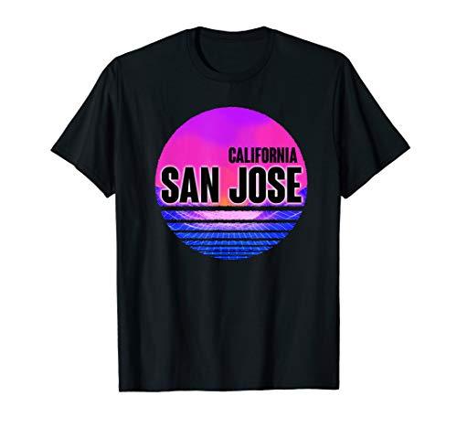 Halloween Costumes San Jose (Vintage San Jose Shirt Vaporwave)