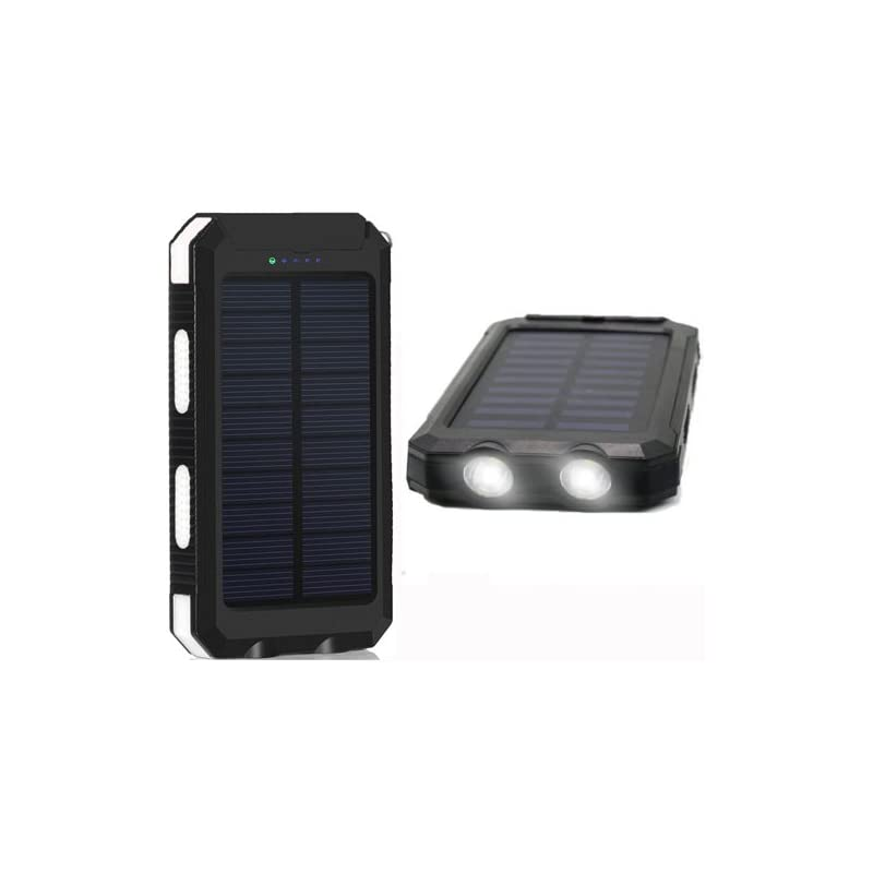 20000mAh Solar Power Bank Solar Charger