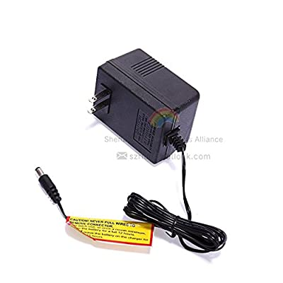 LinkePow 12 Volt Charger for 12V Kids Powered Ride On Car, 12V Charger for a Variety of Electric Baby Carriage Ride On Toy Power Adapter: Toys & Games
