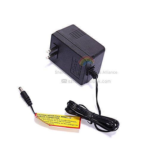 LinkePow 12 Volt Charger for 12V Kids Powered Ride On Car, 12V Charger for a Variety of Electric Baby Carriage Ride On Toy Power Adapter ()
