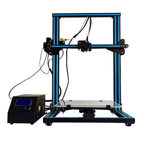 Creality CR-10S 3D Printer Dual Z axies Filament Monitor 300x300x400mm (Blue) by Creality 3D