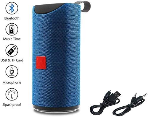 Rewy RW113 Super Bass Splash Proof Wireless Bluetooth Speaker Best Sound Quality Playing with All Device (Random Colour)