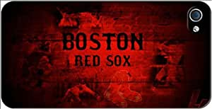 Boston Red Sox MLB iPhone 4-4S Case v6 3102mss