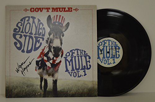 Warren Haynes signed Gov't Mule Stoned Side of the Mule Vinyl LP (Mule Stoned)