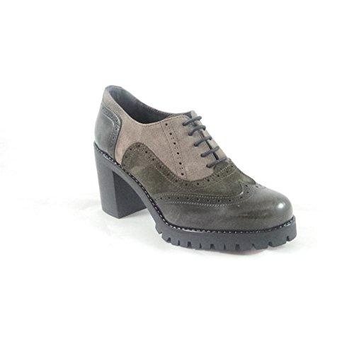 mujer Aeros para Zapatos Gris cordones de gris q87pw8B