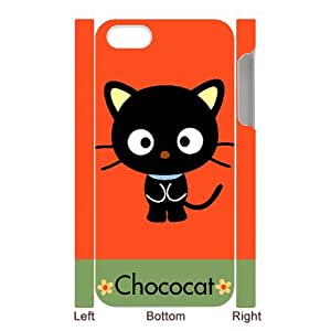 Custom Your Own Personalized Cute Kitten Cat iPhone 5 Case, Snap On Hard Protective Chococat iPhone 5 Case Cover