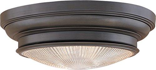 Hudson Valley 7513-OB, Woodstock Energy Star Flush Mount Ceiling Lighting, 2 Light, Bronze by Hudson Valley Lighting