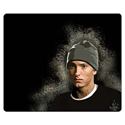 26x21cm 10x8inch personal Mouse Pad accurate cloth and antiskid rubber stain and water resistant durable materials Eminem