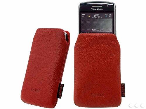 Cellet Madison Case for Blackberry Curve 8900, 9700, 9550, 9630 etc. - Red ()