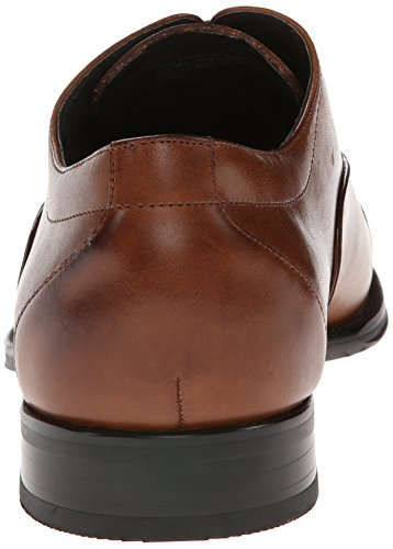 Stacy Adams Hommes Kordell Cap-toe À Lacets Oxford Cognac