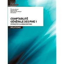 Comptabilité générale des PME 1 Solutions