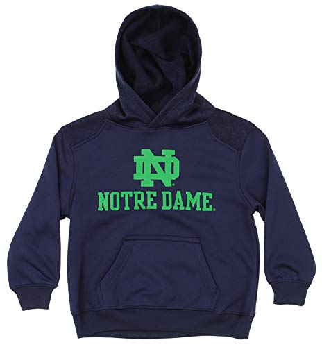 Outerstuff NCAA Little Boys Kids (4-7) Performance Hoodie, Notre Dame Fighting Irish Small (4) ()