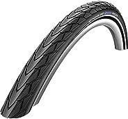 Schwalbe Marathon Racer HS 366 Road Bike Tire, SpeedGrip Wire Beaded (700x35mm, Black)