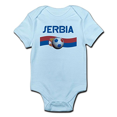 Serbia World Cup (CafePress Team Serbia World Cup Infant Bodysuit - Cute Infant Bodysuit Baby Romper)